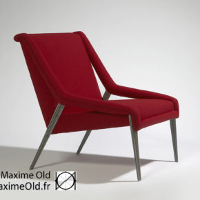 Maxime Old Paquebot France Light Armchair
