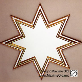 Maxime Old Star Mirror
