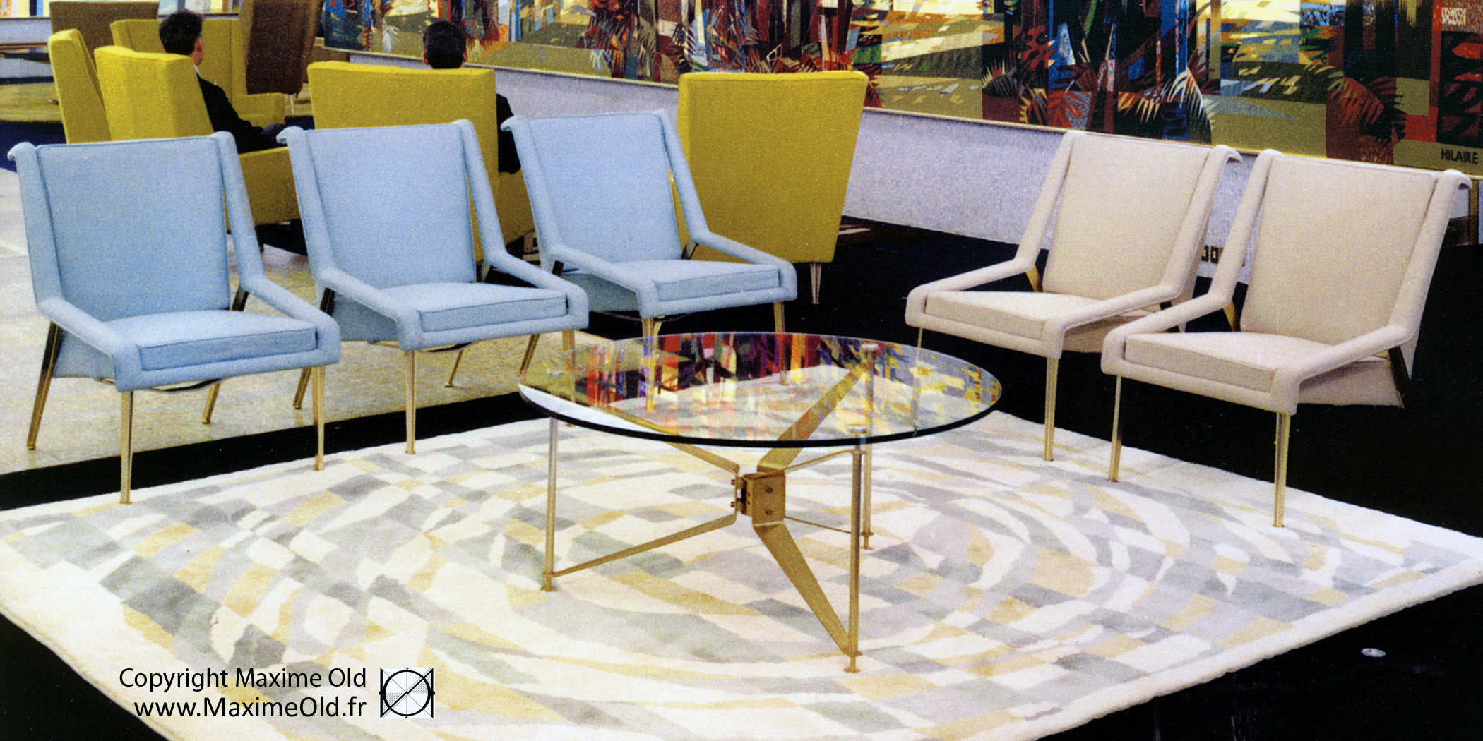 Maxime Old Coffee-Side Tables